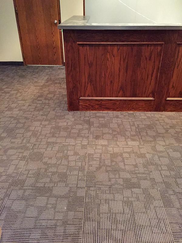 Commercial Flooring installation on Toronto location